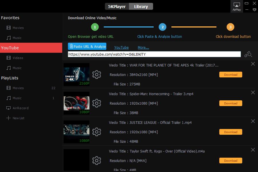 5k Player Download