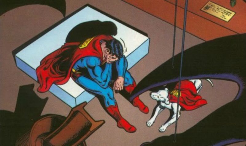 Sad Superman