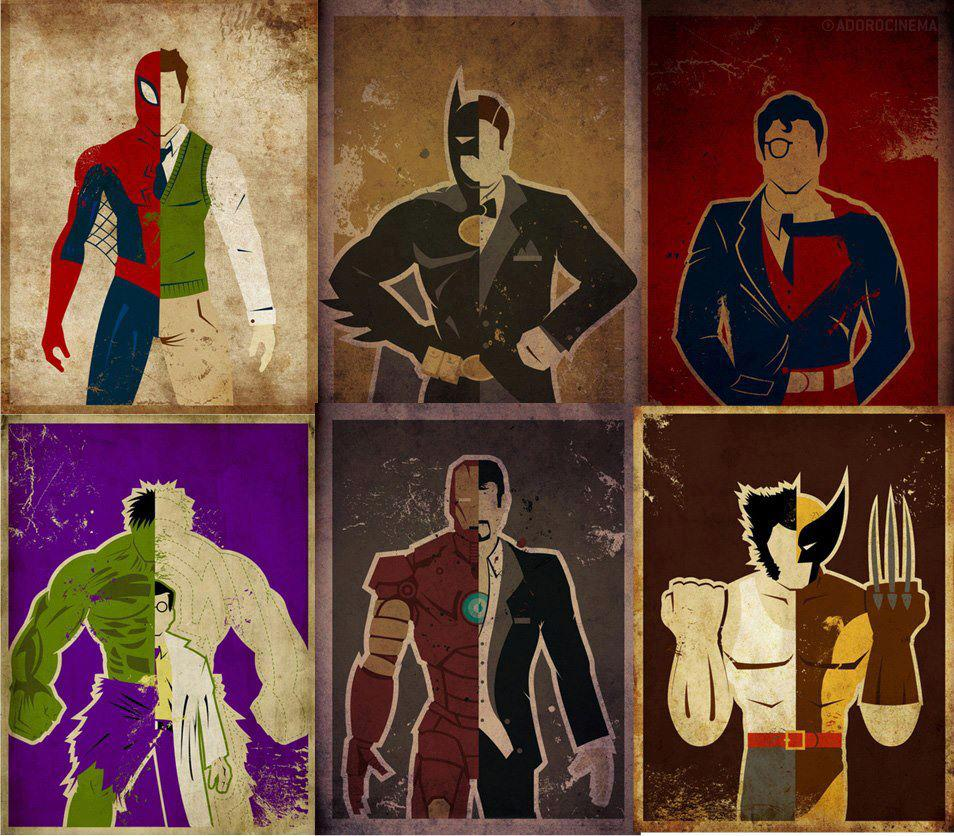 Superheroes Resembling Humans 1