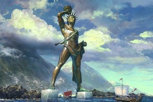 Wonders of Colossus of Rhodes - One of the Seven Ancient Wonders of the World