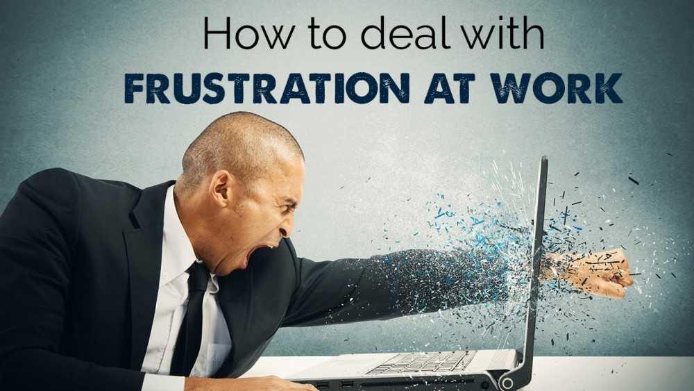 Work Frusttraon